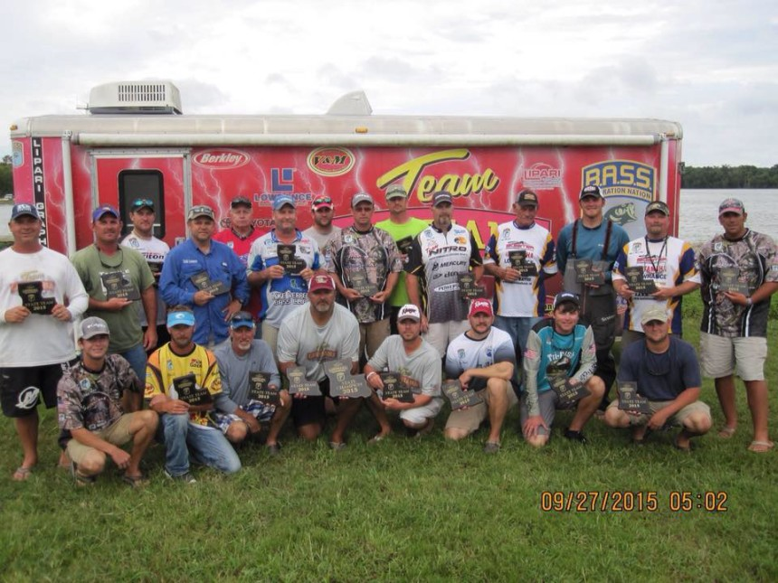 Team Louisiana BASS 2015